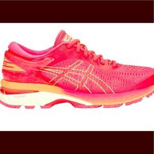 ASICS Gel Kayano 25 : diva pink / Mohave orange